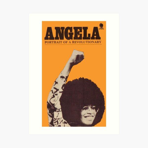 Angela Davis - Portait Of A Revolutionary Art Print