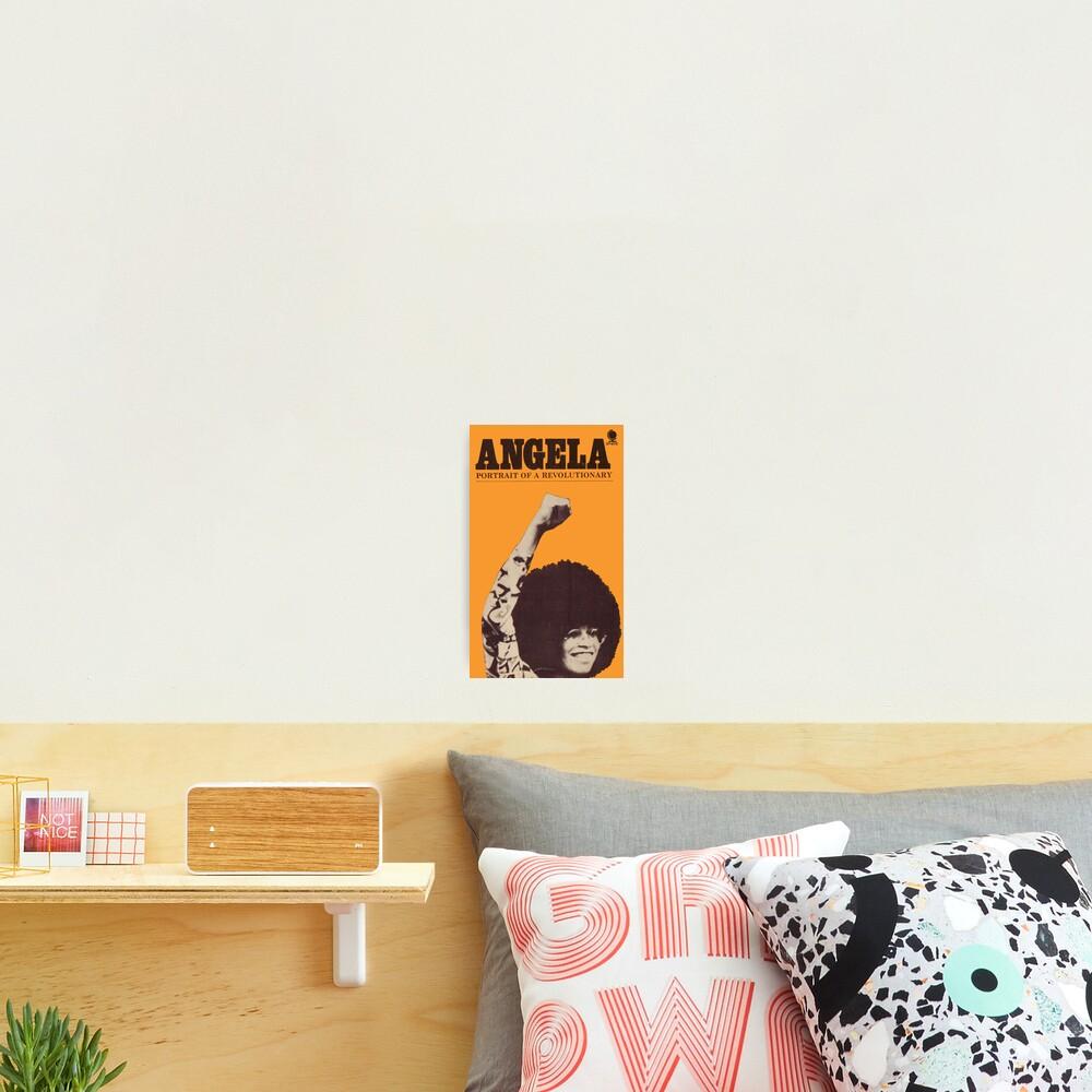 Angela Davis - Portait Of A Revolutionary Photographic Print