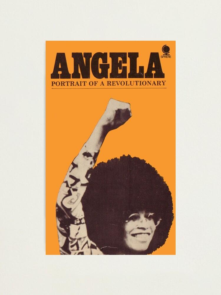 Alternate view of Angela Davis - Portait Of A Revolutionary Photographic Print