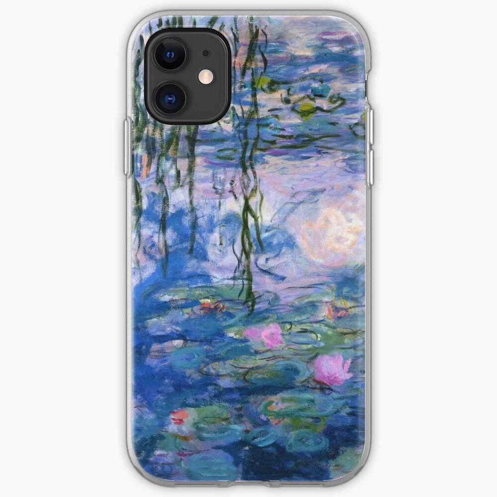Claude Monet - Lirios de agua Funda y vinilo para iPhone