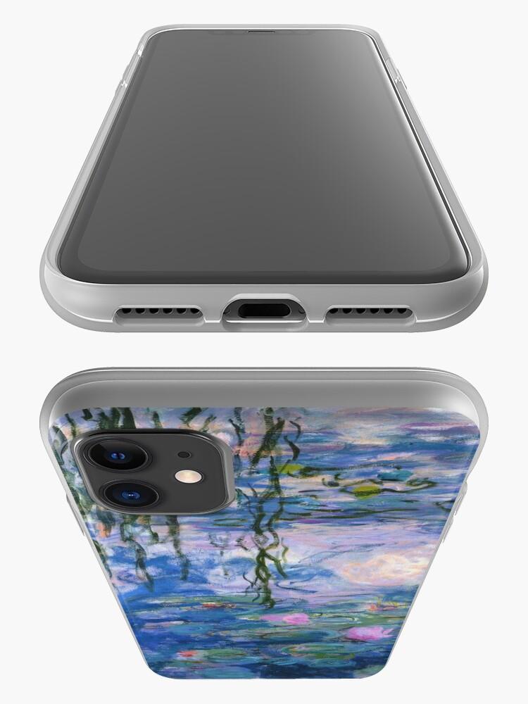 Vista alternativa de Funda y vinilo para iPhone Claude Monet - Lirios de agua