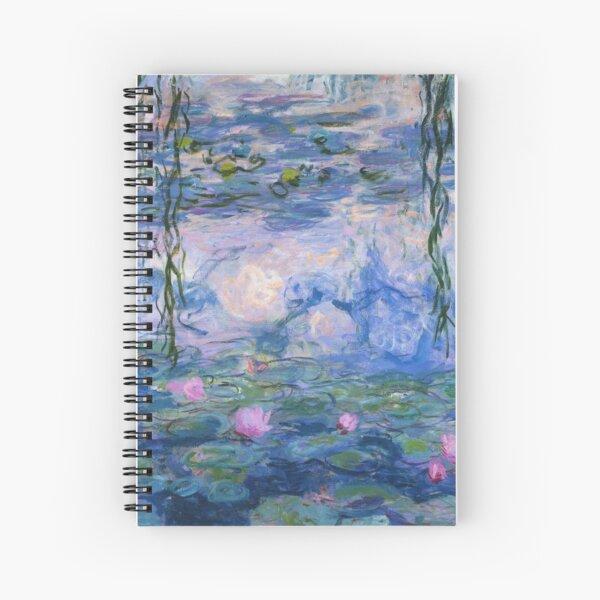 Claude Monet - Water Lilies Spiral Notebook