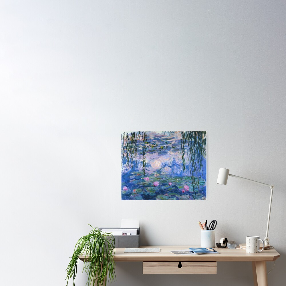 Claude Monet - Water Lilies Poster