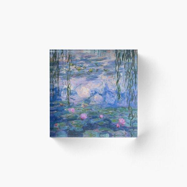 Claude Monet - Water Lilies Acrylic Block