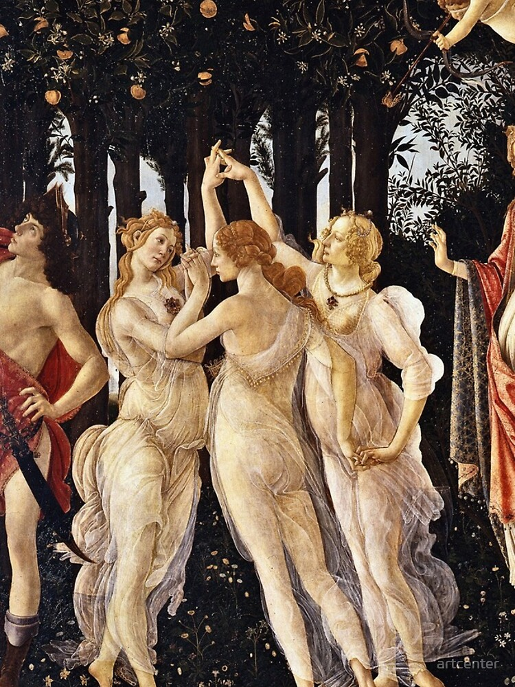 Botticelli - La Primavera (Spring) (1481 - 1482) by artcenter