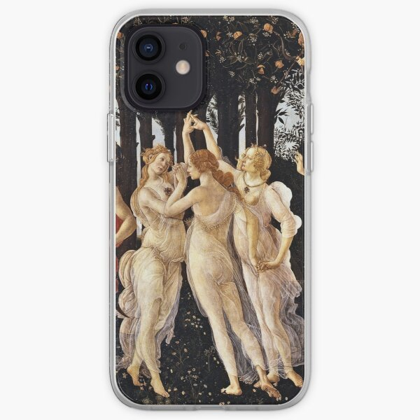Botticelli - La Primavera (Spring) (1481 - 1482) iPhone Soft Case
