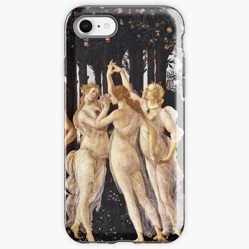 Botticelli - La Primavera (Spring) (1481 - 1482) iPhone Case & Cover