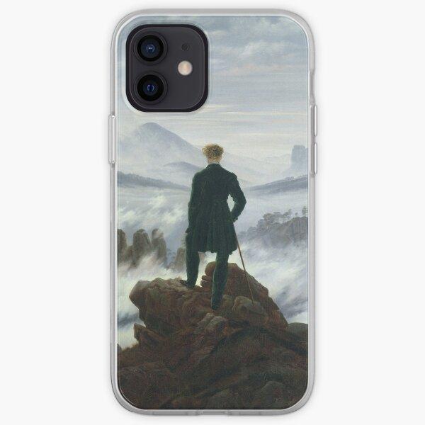 Caspar David Friedrich - The Wanderer Above The Sea Of Fog iPhone Soft Case