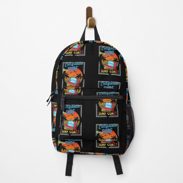 California typography t shirt vector Backpack