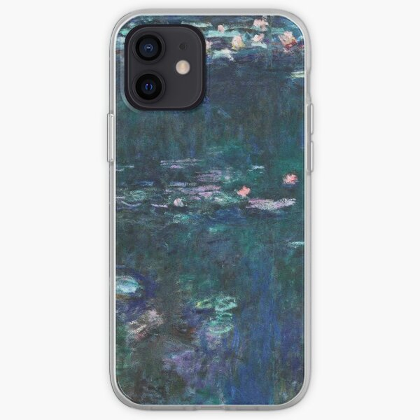 Claude Monet - The Water Lilies - Green Reflections (1915 - 1926) iPhone Soft Case