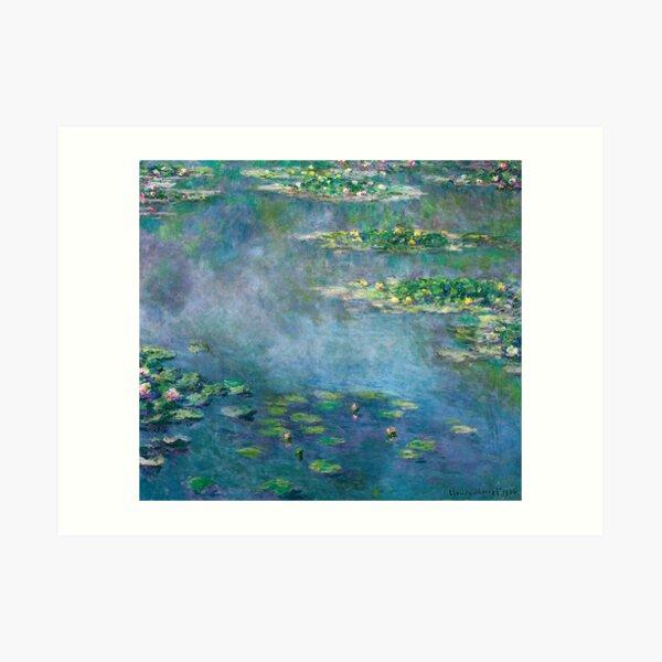Claude Monet - Water Lilies Art Print