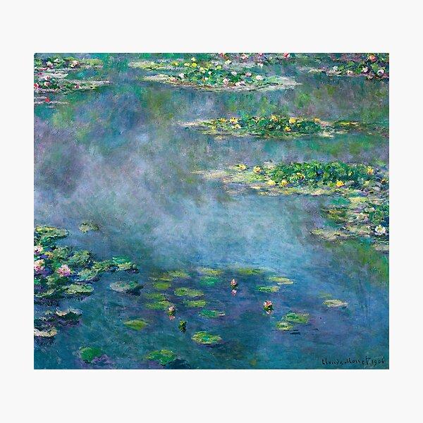 Claude Monet - Water Lilies Photographic Print