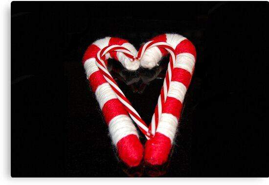 Candy Cane Hearts by Grinch/R. Pross
