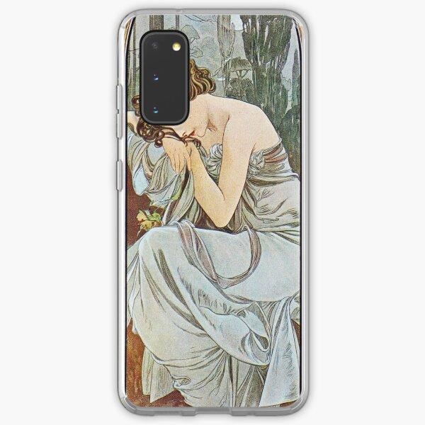 Alphonse Mucha - Nocturnal Slumber Samsung Galaxy Soft Case