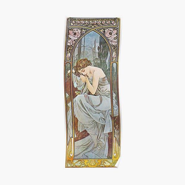 Alphonse Mucha - Nocturnal Slumber Poster