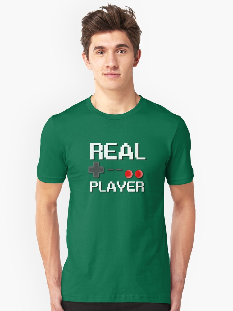 Real Player Unisex T-Shirt Front