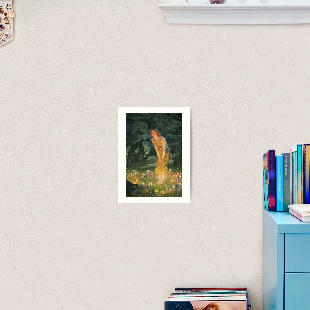 Edward Robert Hughes - Midsummer Eve Art Print