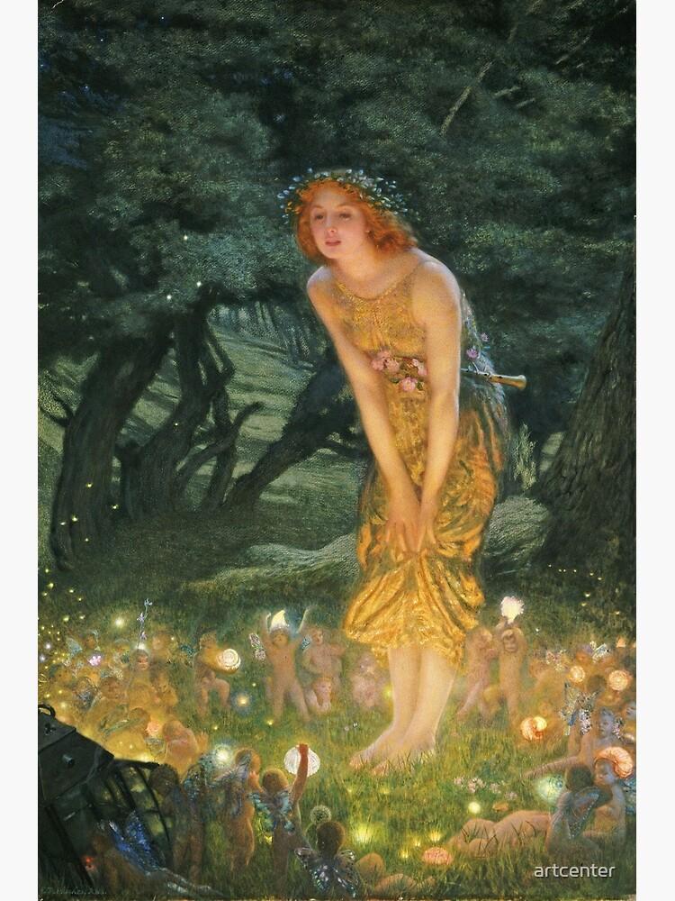 Edward Robert Hughes - Midsummer Eve by artcenter