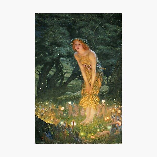 Edward Robert Hughes - Midsummer Eve Photographic Print