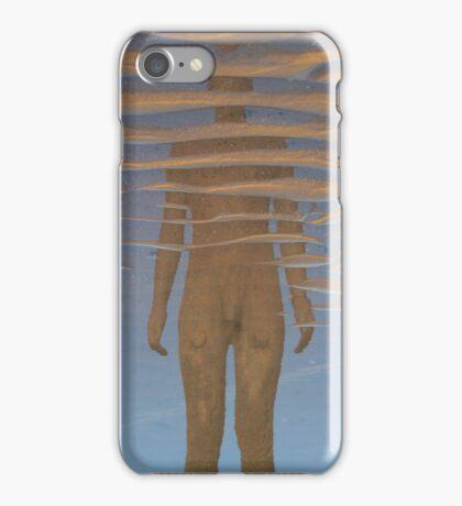 Reflection, Crosby Beach iPhone Case/Skin
