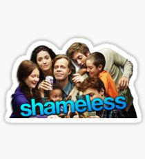 Shameless US Sticker Sticker