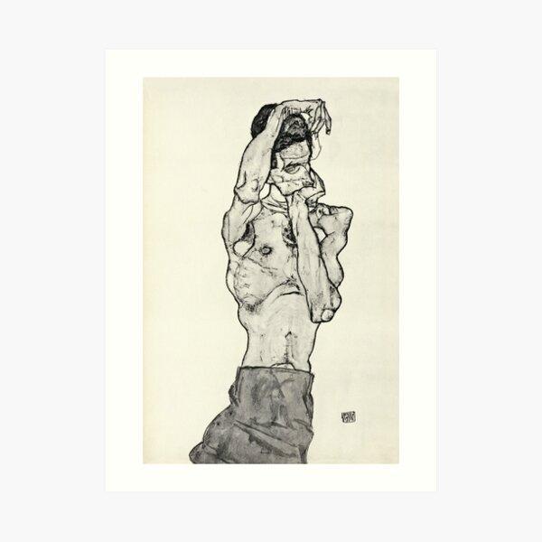 Egon Schiele - Zeichnungen II 1914 Impression artistique