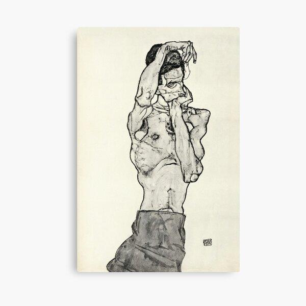 Egon Schiele - Zeichnungen II 1914  Canvas Print