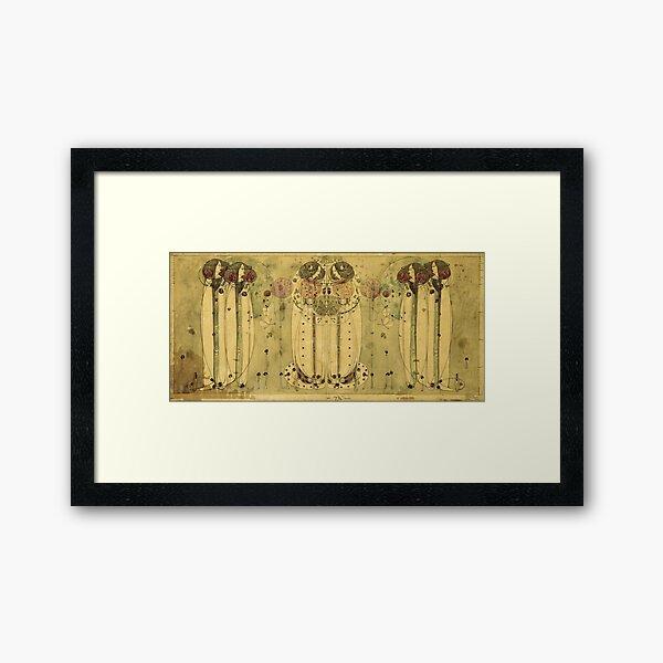 Charles Rennie Mackintosh - Die Wassail Gerahmter Kunstdruck