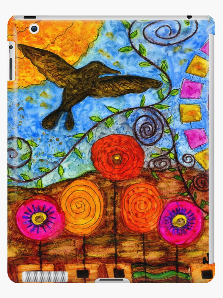I Believe I Can Fly - iPad Cover by © Angela L Walker
