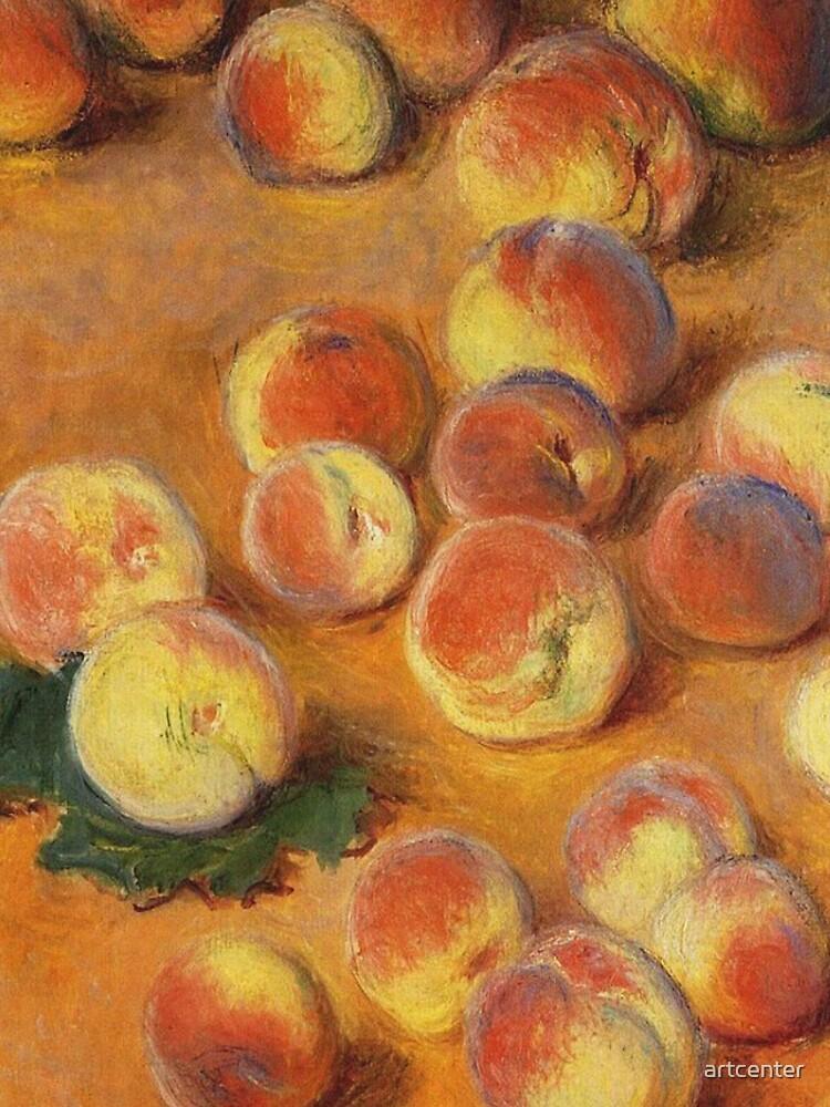Claude Monet - Peaches by artcenter