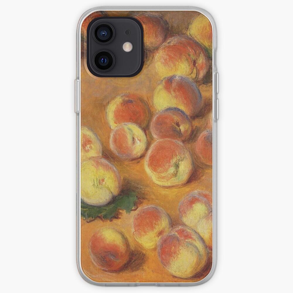 Claude Monet - Peaches iPhone Case & Cover
