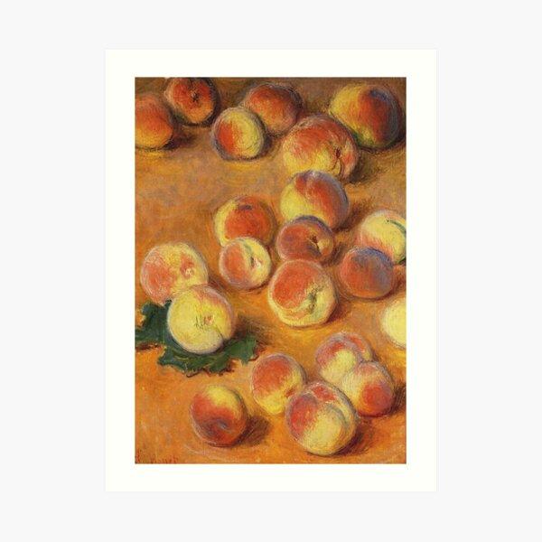 Claude Monet - Peaches Art Print