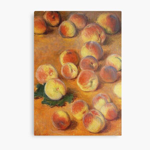 Claude Monet - Peaches Metal Print