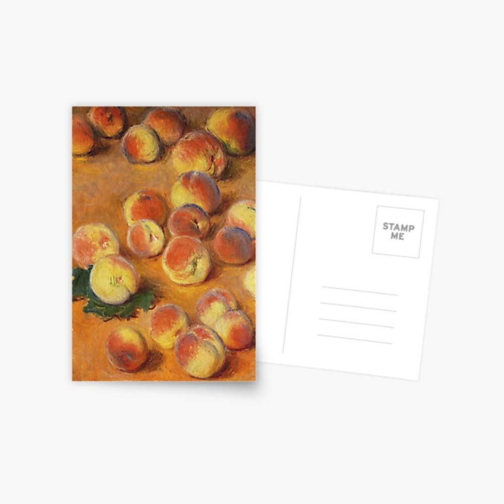 Claude Monet - Peaches Postcard