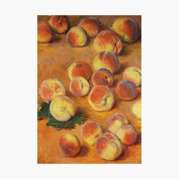 Claude Monet - Peaches Photographic Print