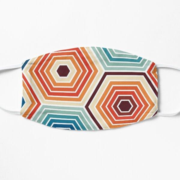 Seamless Hexagon Geometric Pattern Flat Mask
