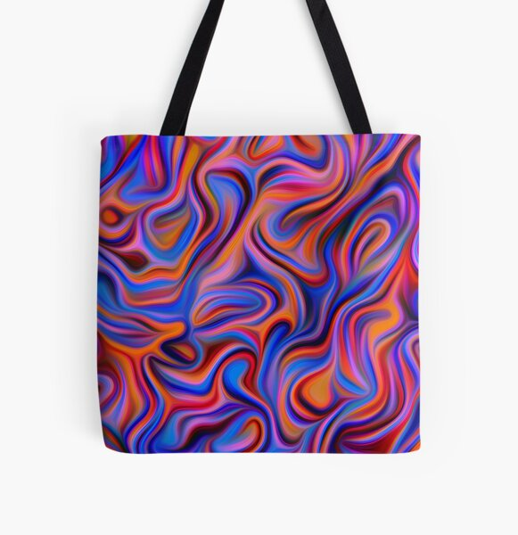 Abstractions of abstract abstraction All Over Print Tote Bag