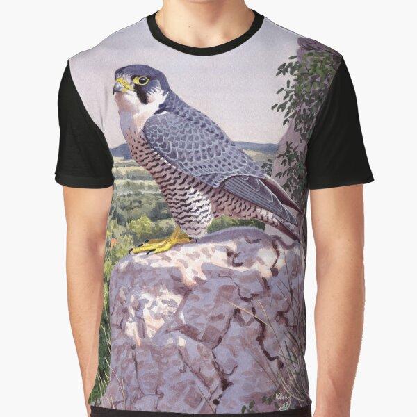 Peregrine Falcon Graphic T-Shirt