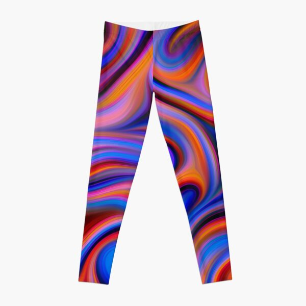 Abstractions of abstract abstraction Leggings