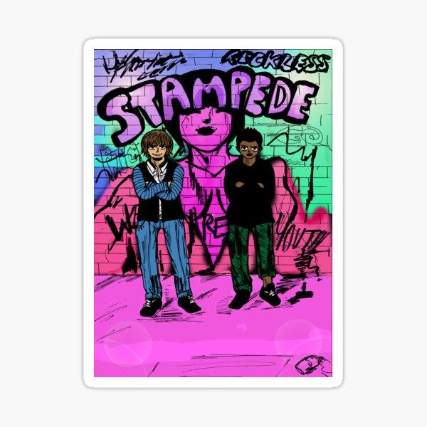Stampede- Youth Sticker