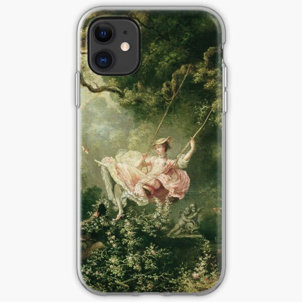 Jean-Honore Fragonard - The Swing, 18th Century iPhone Soft Case