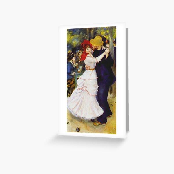 Auguste Renoir - Dance At Bougival 1883 Greeting Card