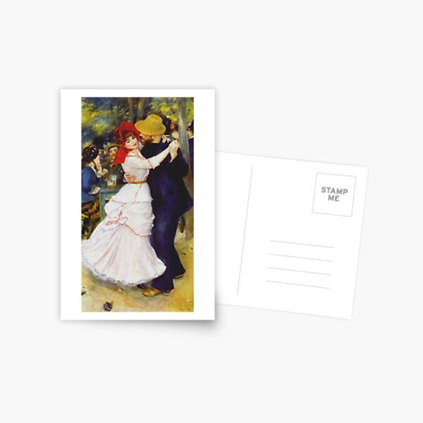 Auguste Renoir - Dance At Bougival 1883 Postcard