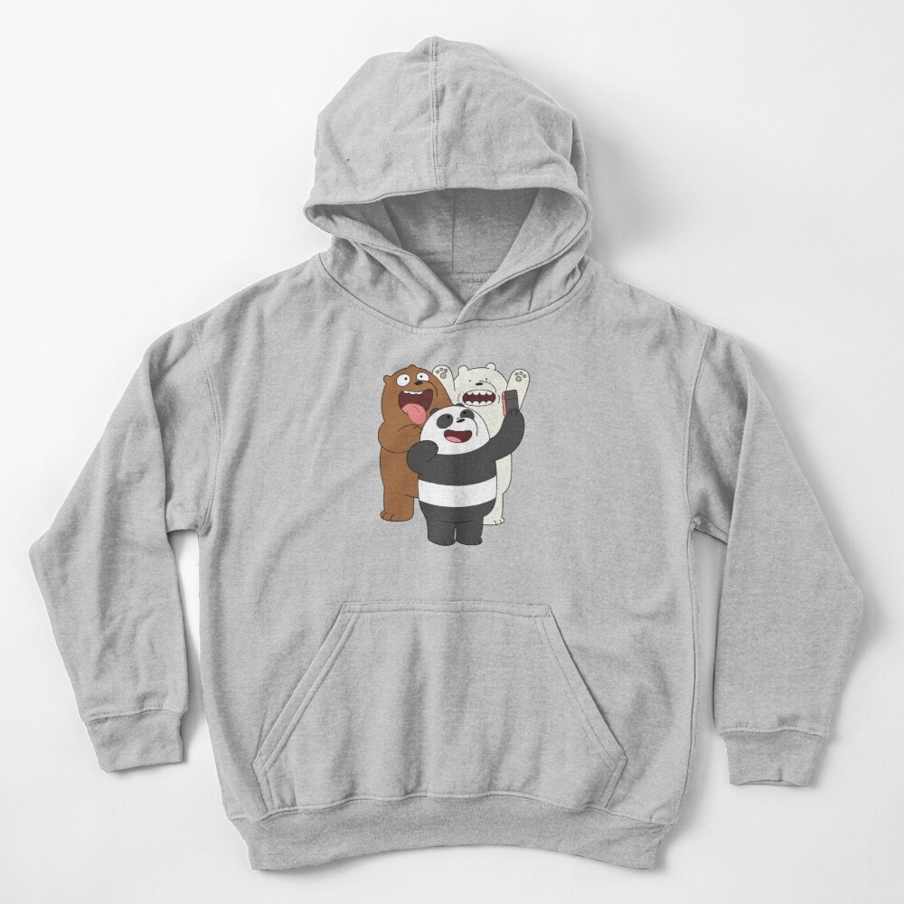 We Bare Bears Kids Pullover Hoodie