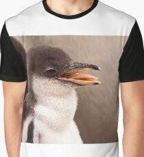 Gentoo Penguin Chick Graphic T-Shirt