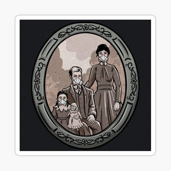 Quarantine family Sticker