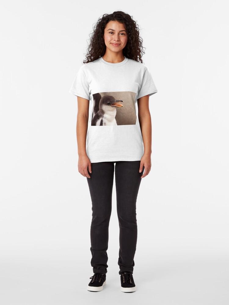 Alternate view of Gentoo Penguin Chick Classic T-Shirt