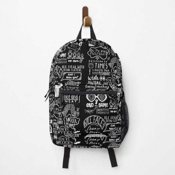 Killing Eve Series Episode Titles Vertical Backpack