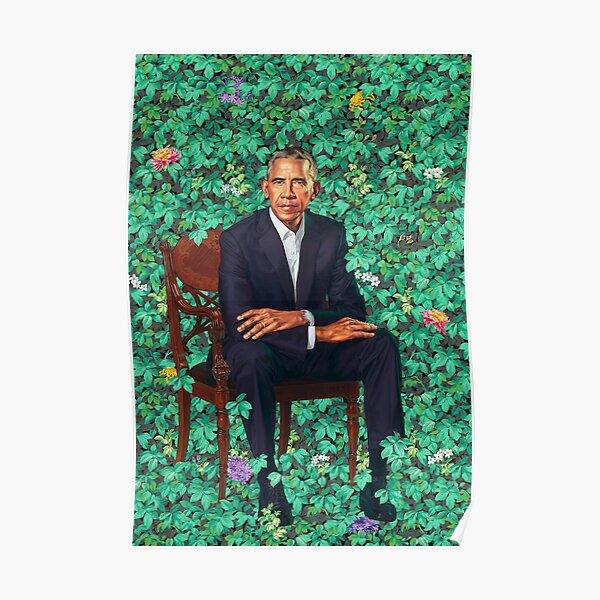 Obama Portrait Poster Poster