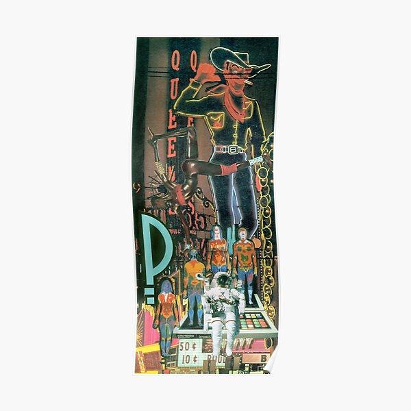 Jackson Pollock à Vegas. Poster